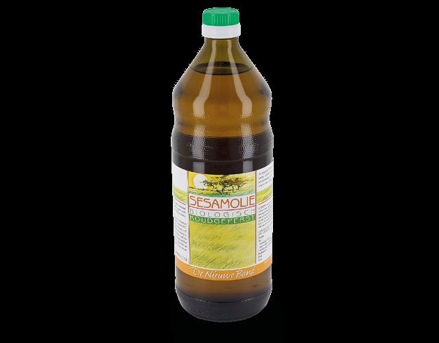 Sesame Oil, cold pressed, 1 litre, certified organic