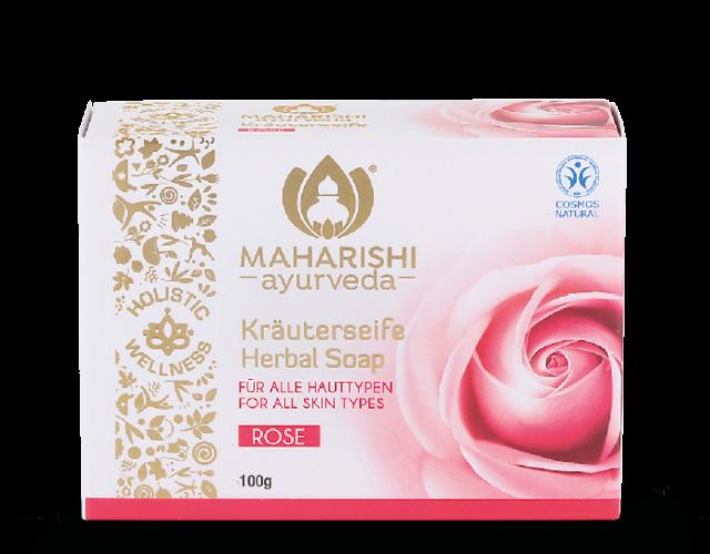 Rose Herbal Soap, CNC