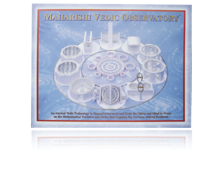 Maharishi Vedic Observatory, Brochure