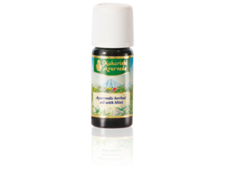 Ayurvedic herbal oil with Mint