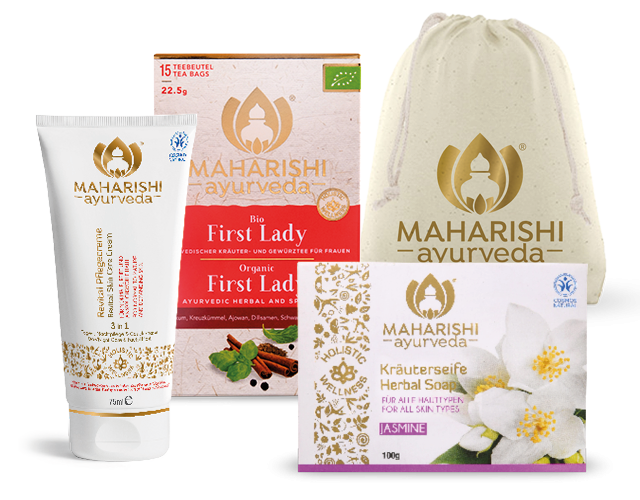 Ayurveda pamper set for women