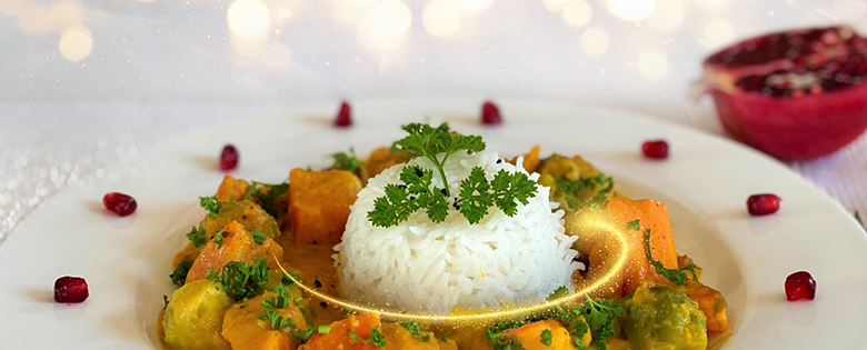 Squash Curry for the Merry Season