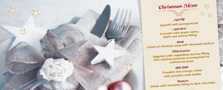 Ayurvedic Christmas Menu