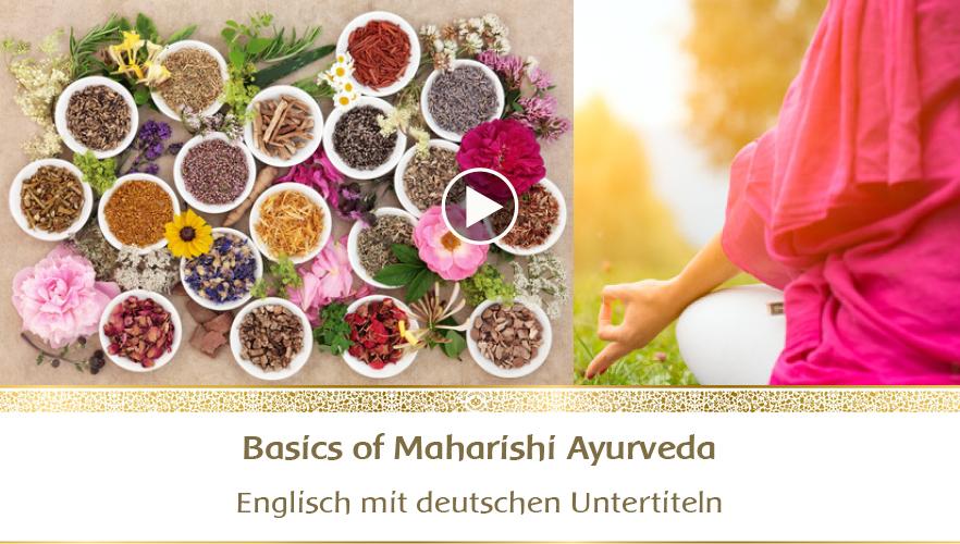 YouTube Webinar: The basics of Maharishi Ayurveda