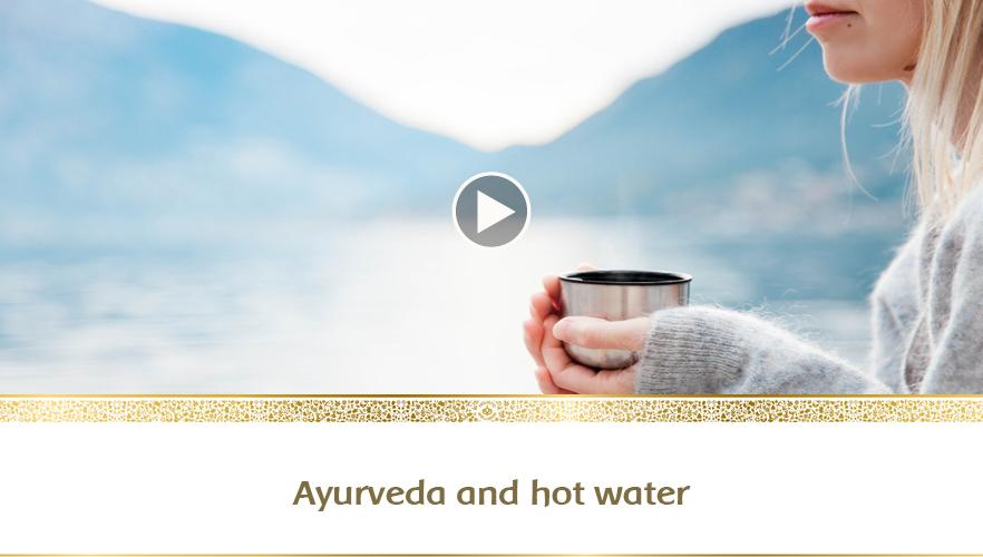 YouTube - Ayurveda and hot water