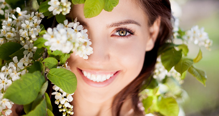 Beautiful, radiant and healthy skin with Ayurveda