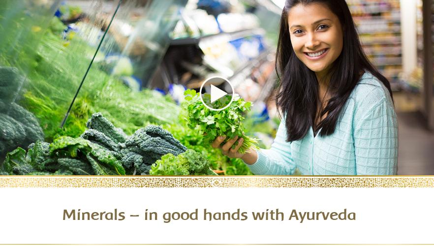 YouTube-Webinar: Minerals - In good hands with Ayurveda